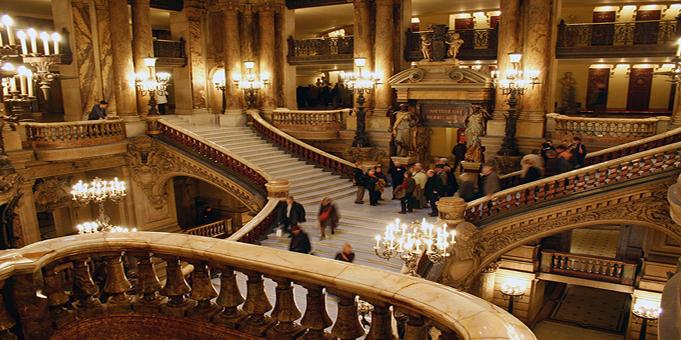 Grand Escalier de l'Opéra Garnier