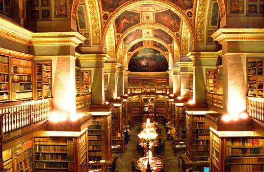 La bibliothèque du Palais Bourbon