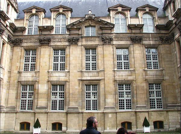 Paris, hôtel Angoulême Lamoignon