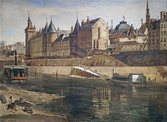 Adrien Dauzats, 1857