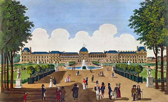palais tuileries histoire